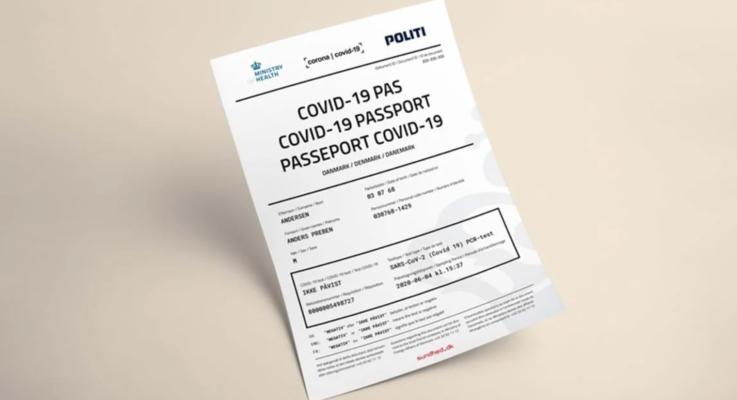 Danimarka'dan Kovid-19 pasaportu