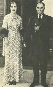 İsveç tahtını varisi Prenses İngrid Mustafa Kemal Atatürk ile
