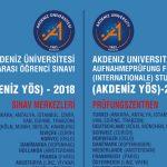 Akdeniz Üniversitesi'nden Kopenhag'da bilgilendirme toplantısı