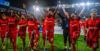 Türkiye Ampute Futbol Milli Takımı üst üste ikinci kez Avrupa Şampiyonu oldu