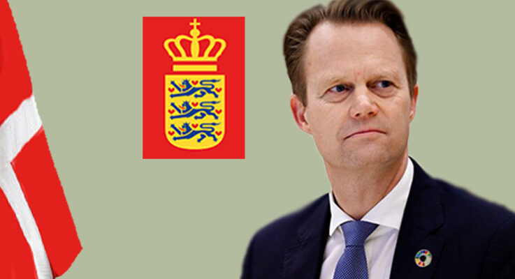 Cumhurbaşkanı Erdoğan'ın talimatı ardından Danimarka Dışişleri Bakanı'ndan açıklama